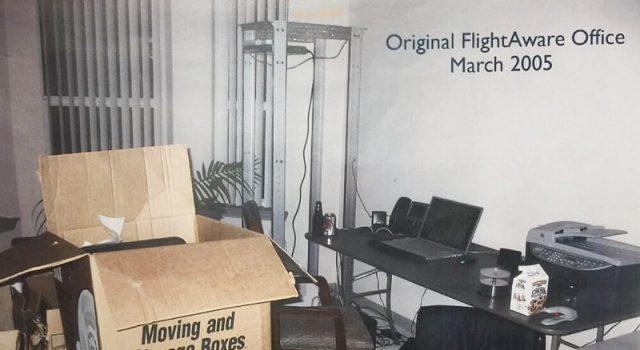 Fundación de FlightAware