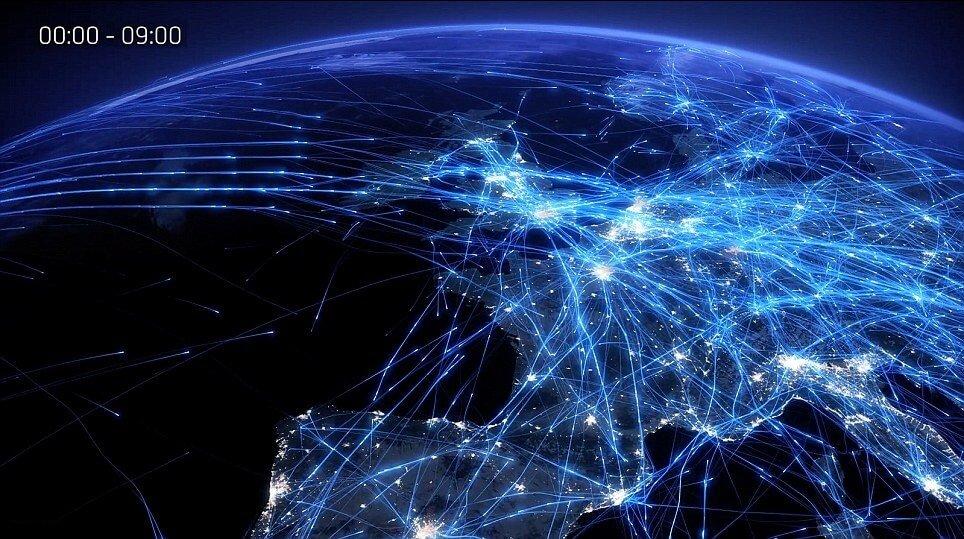 Informacion sobre vuelos en tiempo real