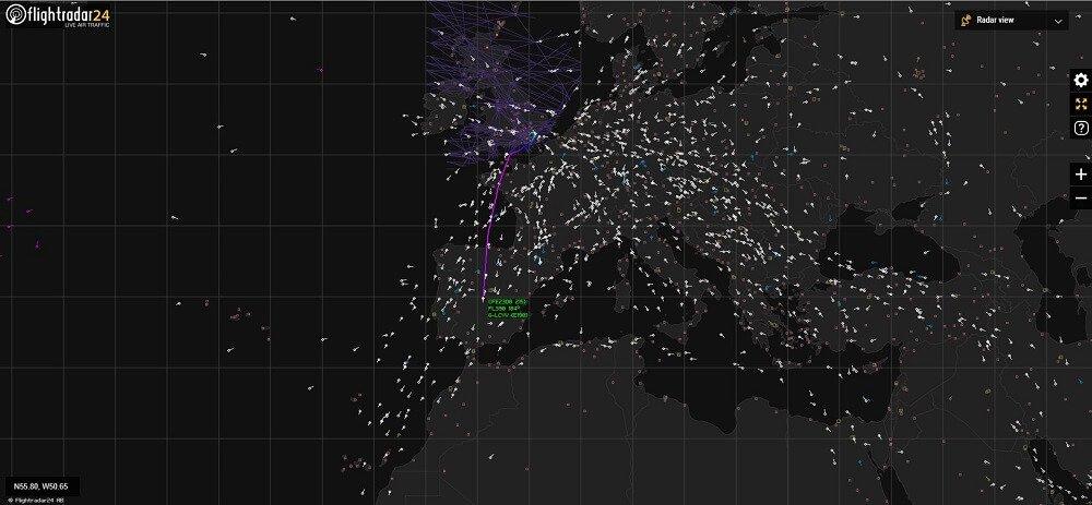 Radar aspecto online