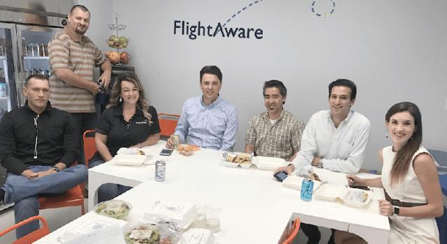 La oficina de FlightAware