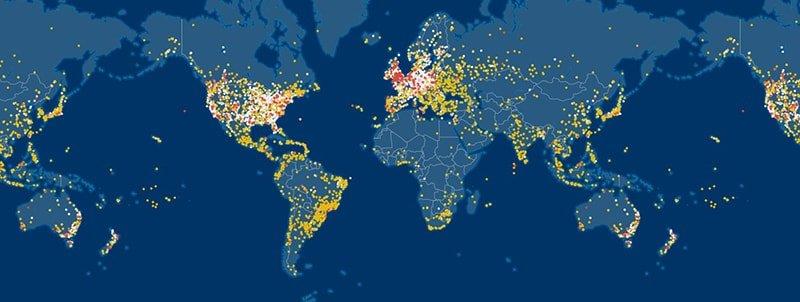 Flightaware – rastreador de vuelos