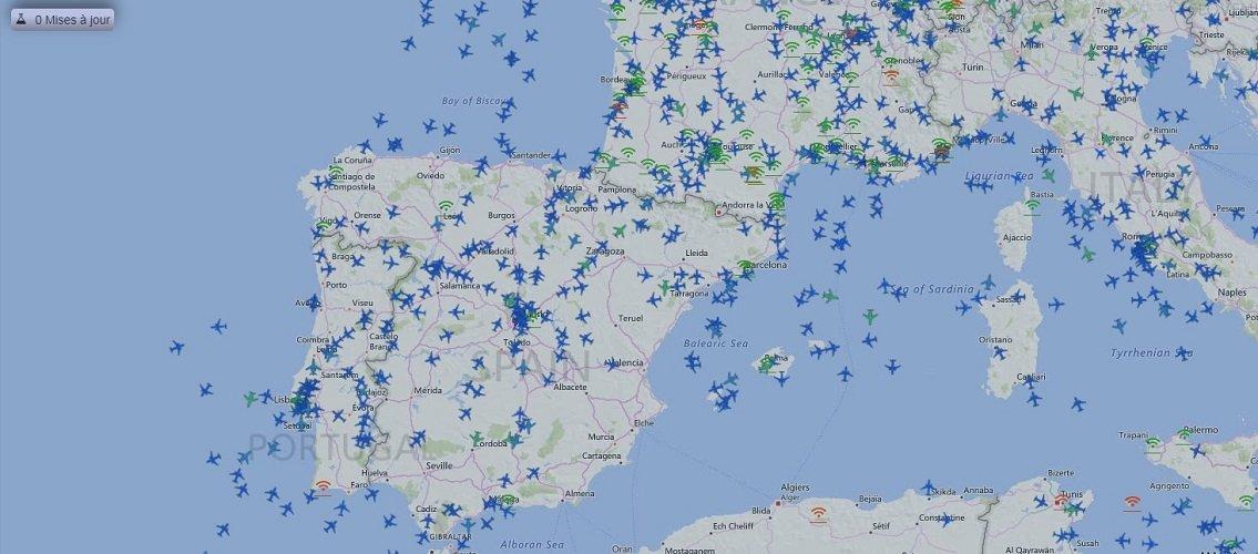 La cobertura geográfica de RadarVituel