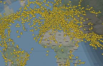 Los mejores radares para seguir los vuelos en directo