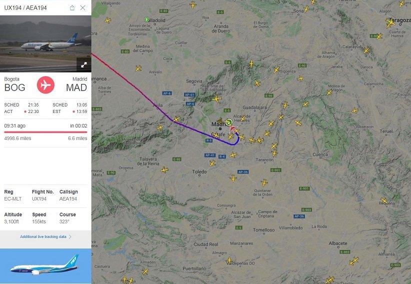 PlaneFinder - radar 24/7