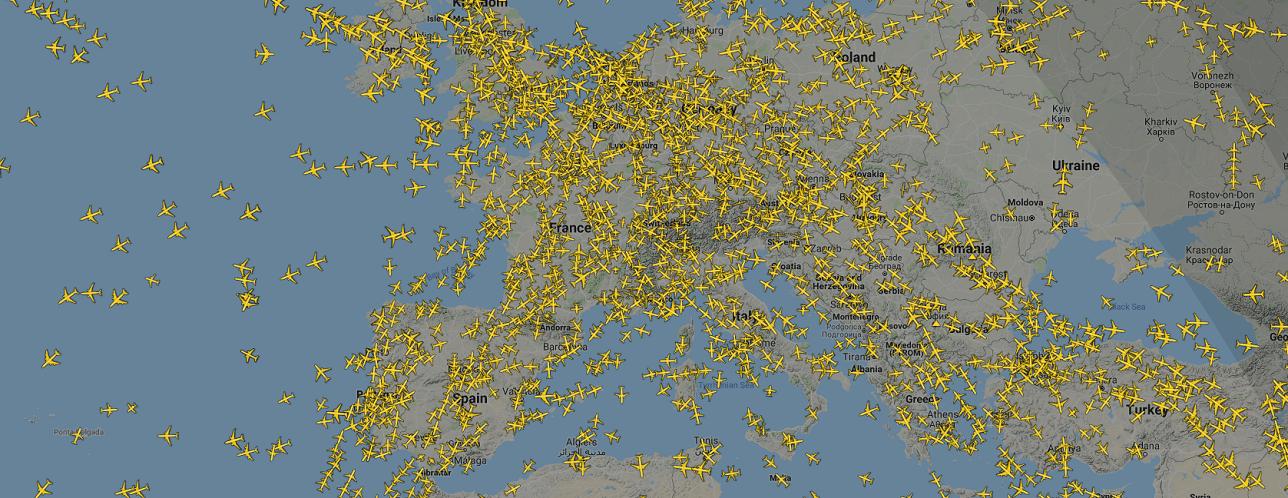 Plane Finder – radar avion en el mundo