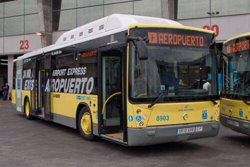 El autobus al aeropuerto barajas
