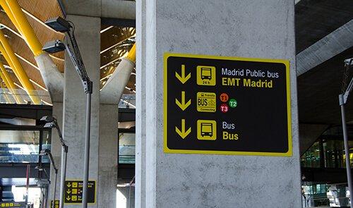 El autobus al aeropuerto