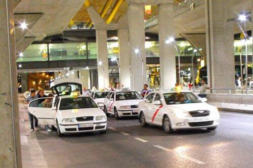 El servicio de taxis barajas