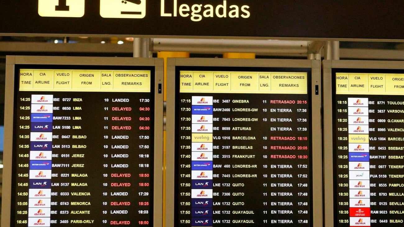 Aeropuerto Barajas – llegadas al aeropuerto