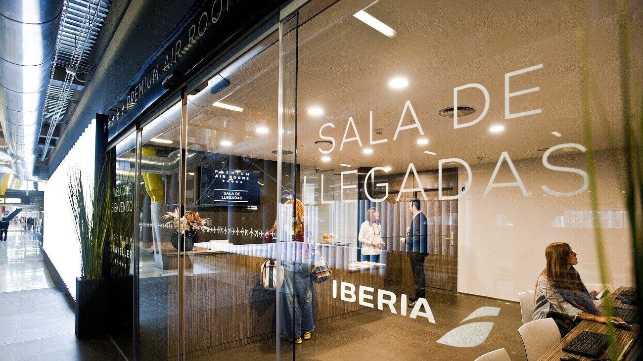 Aeropuerto en Madrid LLegadas