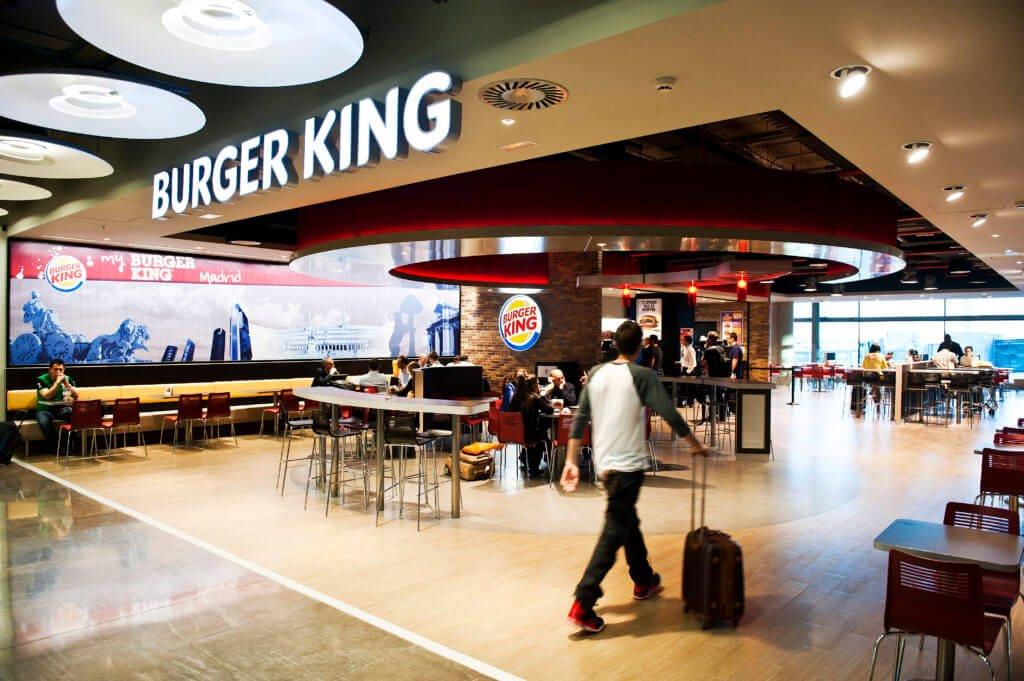 Burger King en el Prat