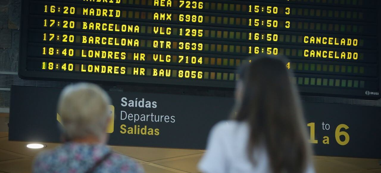 aeropuerto de Barcelona salidas