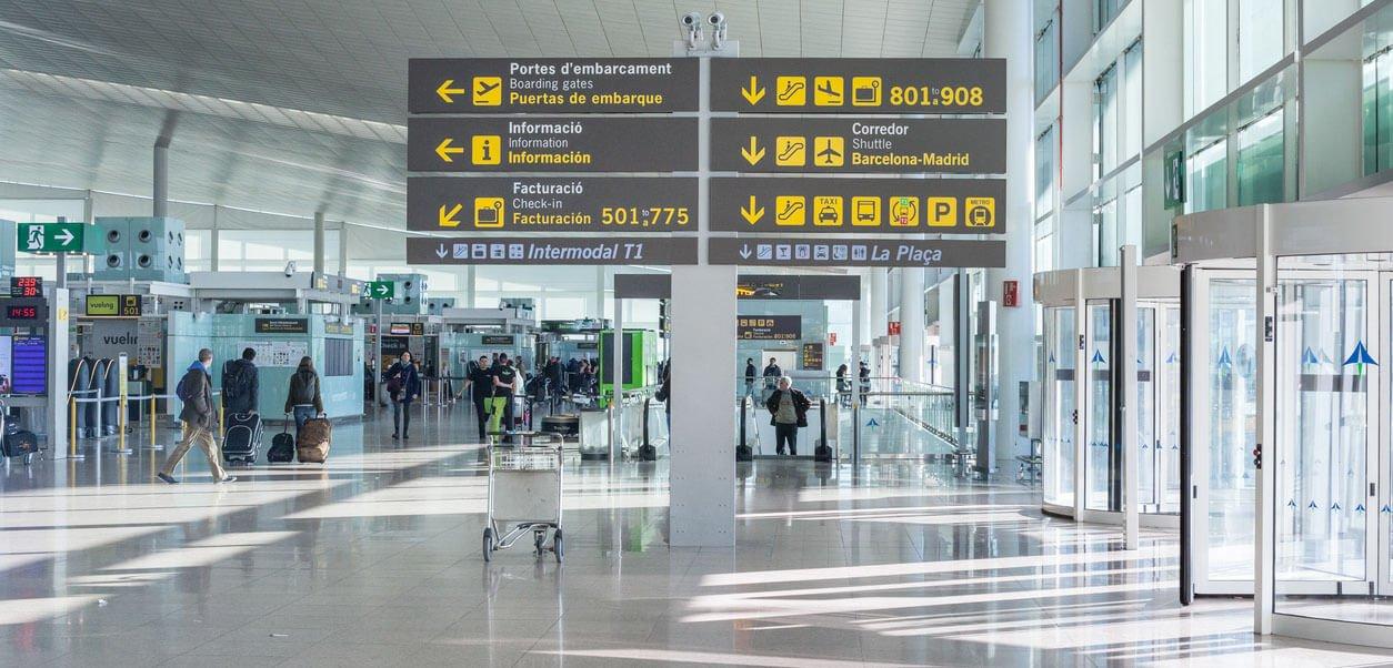 llegadas aeropuerto en Barcelona