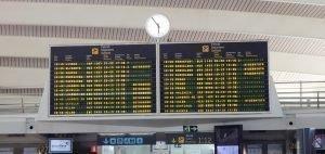 Horarios de salida el aeropuerto de Bilbao