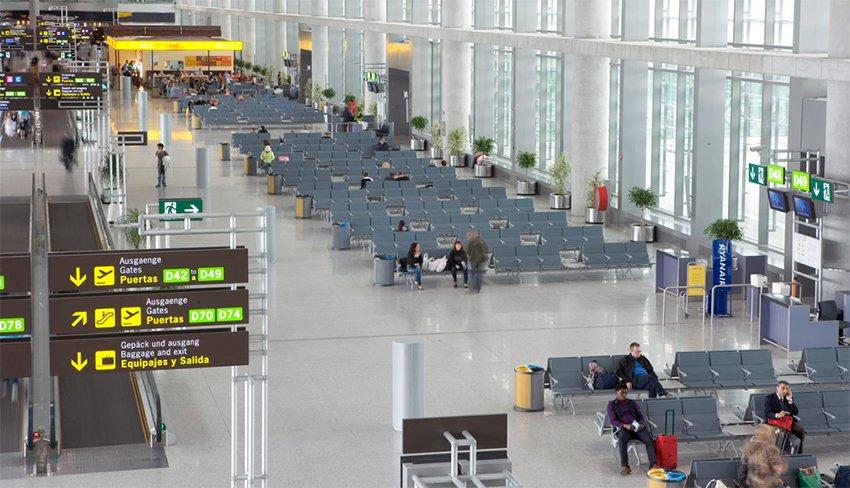 Aeropuerto de Málaga Salidas