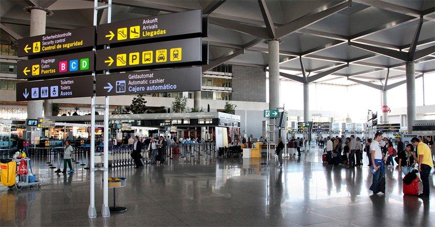 Aeropuerto de Malaga Llegadas