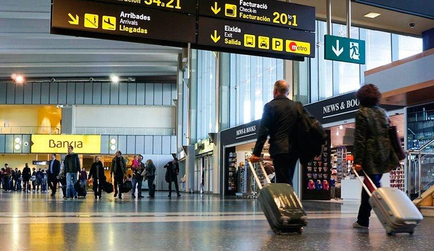 Aeropuerto Valencia llegadas